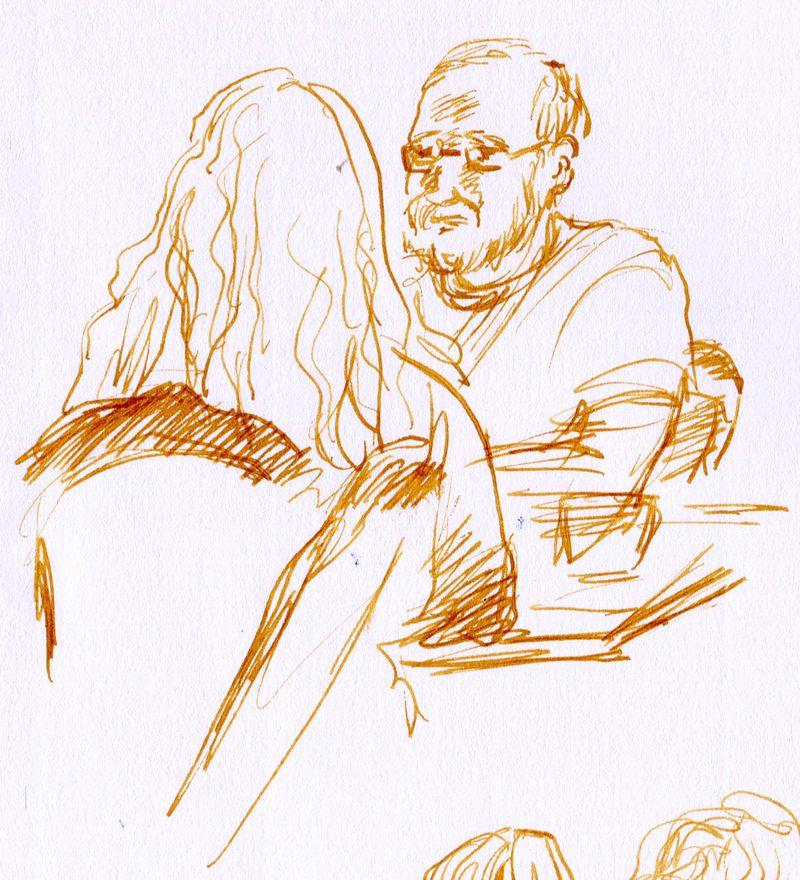 Ambre drawing